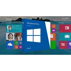 Microsoft Windows 8.1 Pro 64 bit DVD OEM